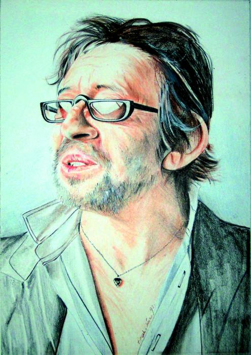 Serge Gainsbourg par Colorfarma
